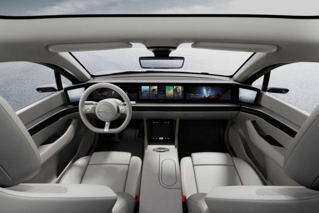 Sony VISION-S prototype vehicle concept (5)