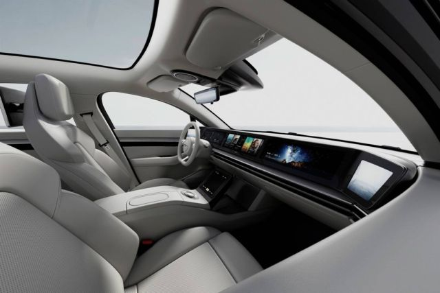 Sony VISION-S prototype vehicle concept (4)