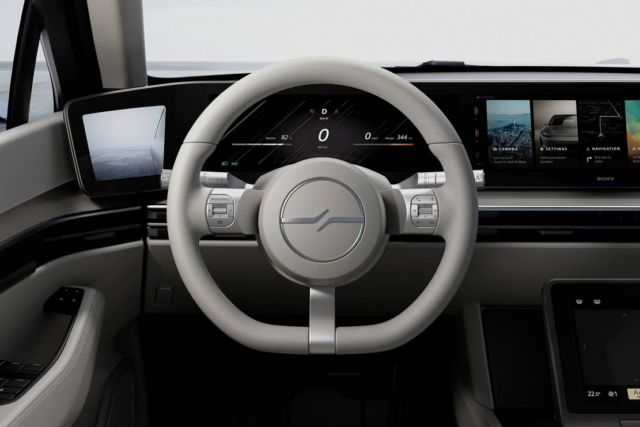 Sony VISION-S prototype vehicle concept (6)