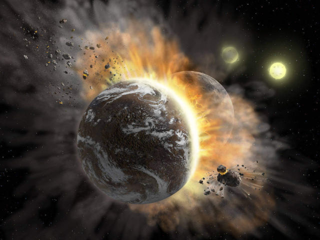 When Exoplanets Collide