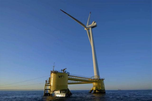 World's Largest Floating Wind Farm