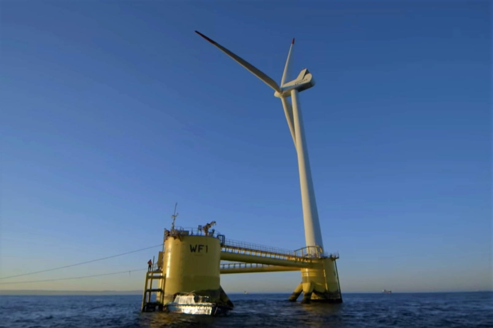 World's Largest Floating Wind Farm starts up