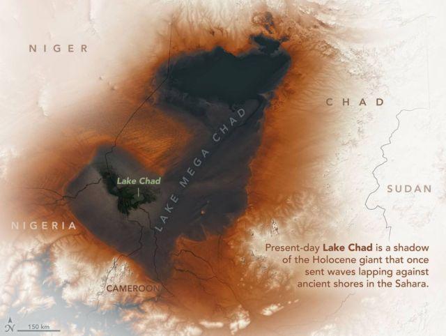 Ancient Lake across the Sahara discovered