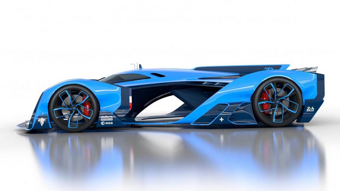 Bugatti Vision Le Mans concept (1)