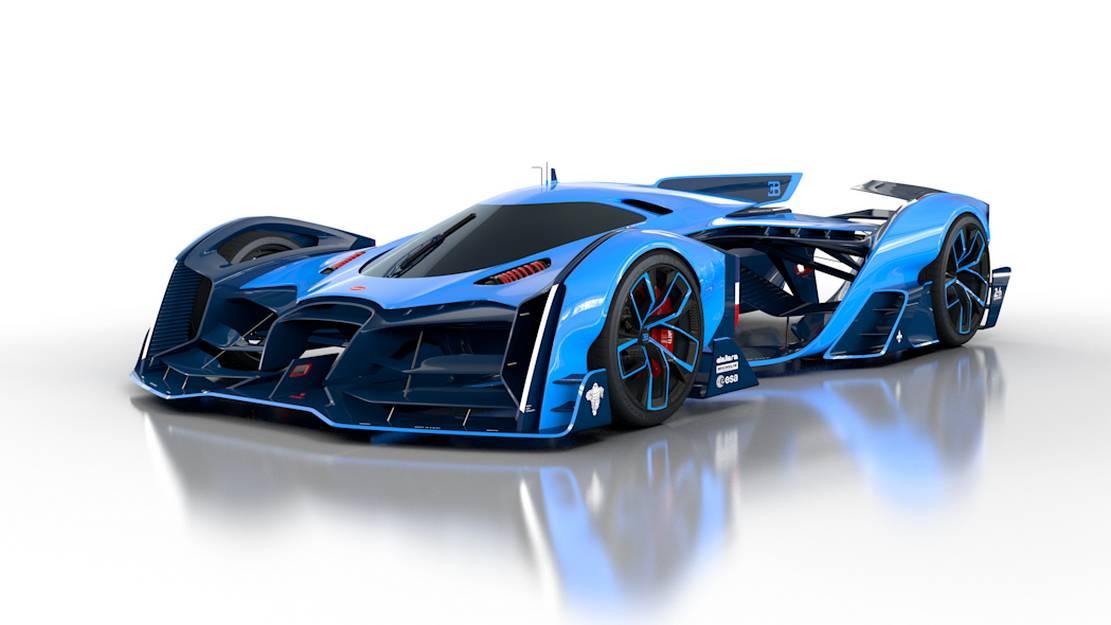Bugatti Vision Le Mans concept (10)