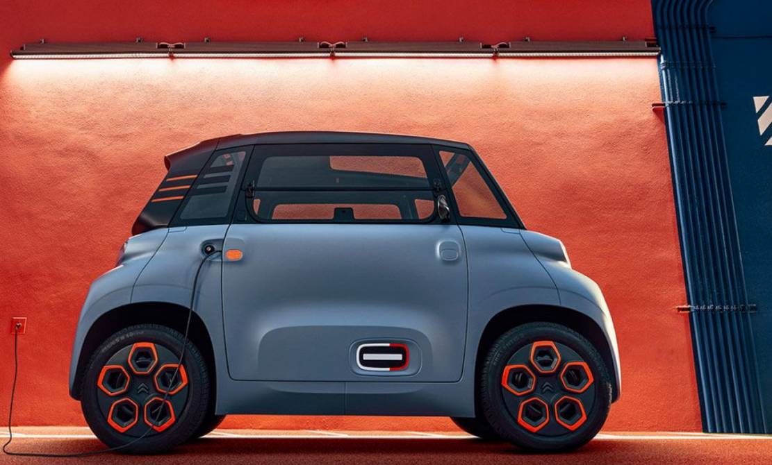 Citroën Ami EV don't need a license to drive
