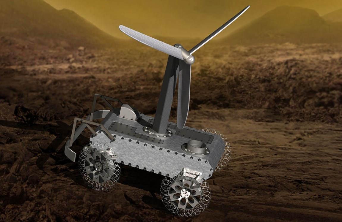 Designing a Venus Rover