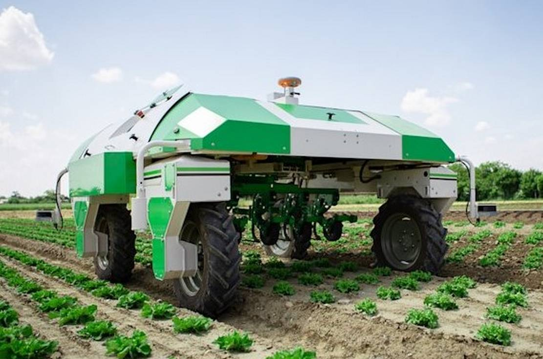 Dino Autonomous mechanical Weeding robot