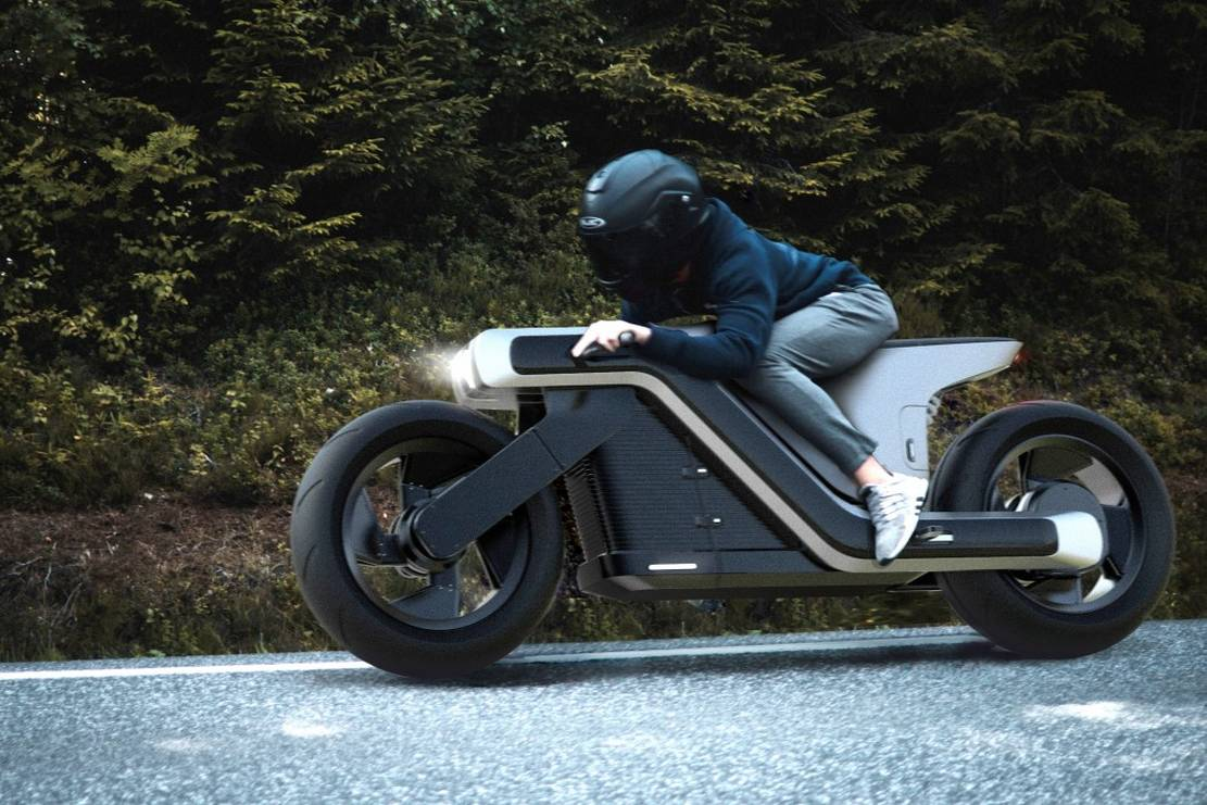Electric Z motorcycle concept