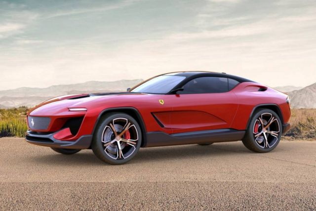 Ferrari GT Cross SUV concept