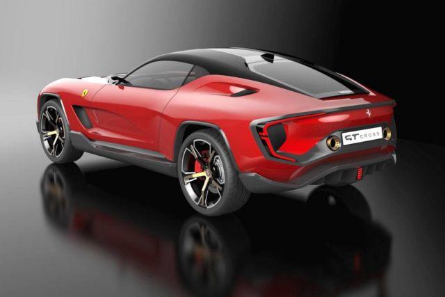 Ferrari GT Cross SUV concept (3)