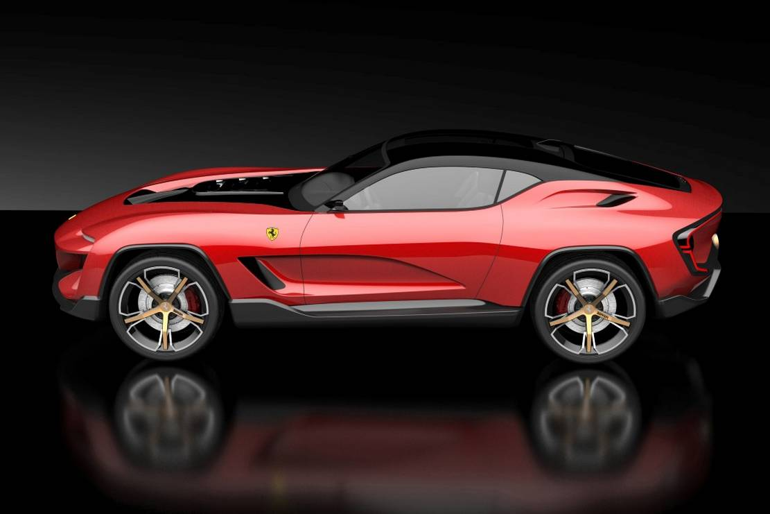 Ferrari GT Cross SUV concept (1)