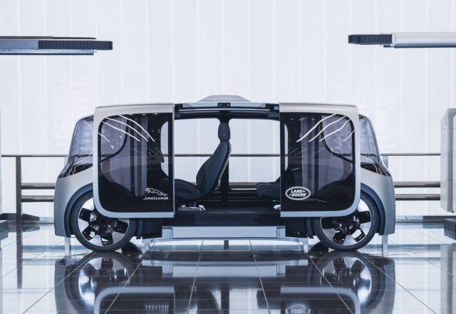 Jaguar Land Rover Project Vector 'autonomy-ready' concept (4)