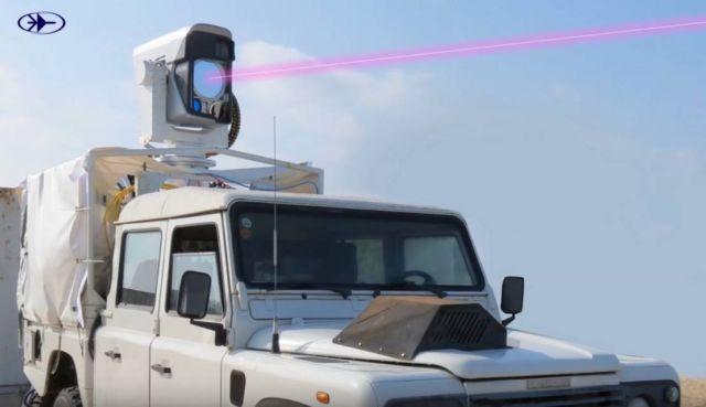 Laser Drone destroyer