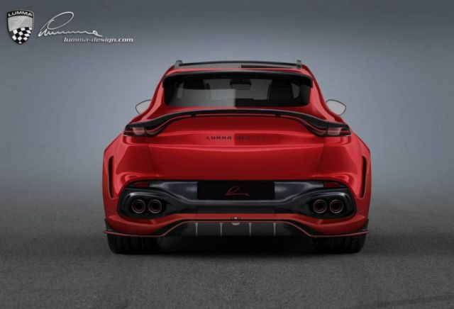 Lumma Aston Martin DBX CLR AM SUV