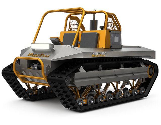 Muddtrax Amphibious Vehicle