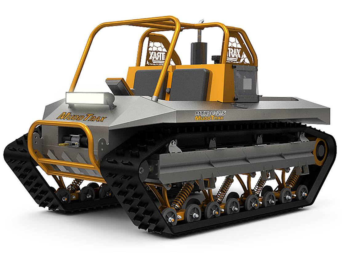 Muddtrax Amphibious Vehicle