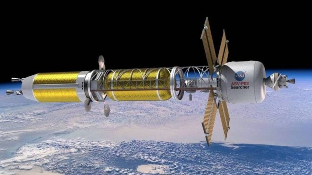 NASA Nuclear Moon Rocket
