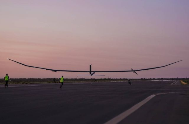 Solar Powered unmanned aircraft
