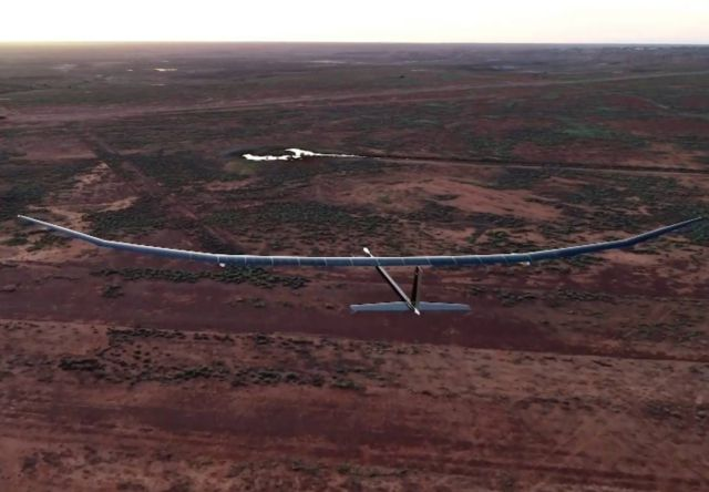 Solar Powered unmanned aircraft (2)