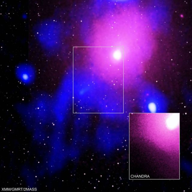 The biggest explosion in the history of the Universe detected