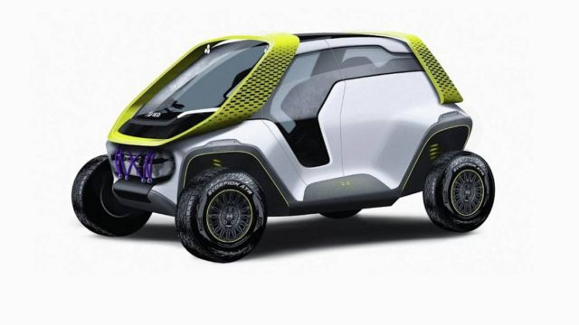 Tracy- Turin design school's electric car