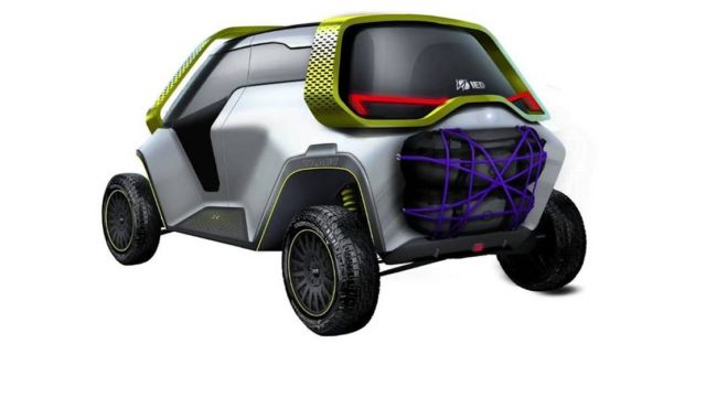 Tracy- Turin design school's electric car (3)