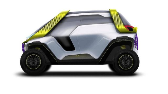 Tracy- Turin design school's electric car (2)