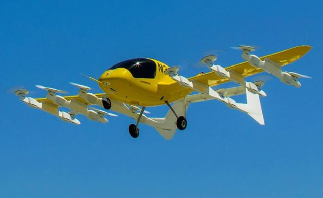 Wisk Autonomous Air Taxi is starting trials