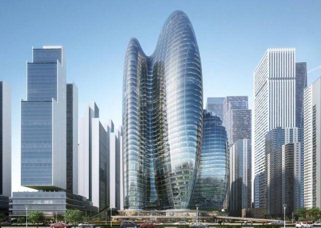 Zaha Hadid Architects' OPPO Shenzhen Towers