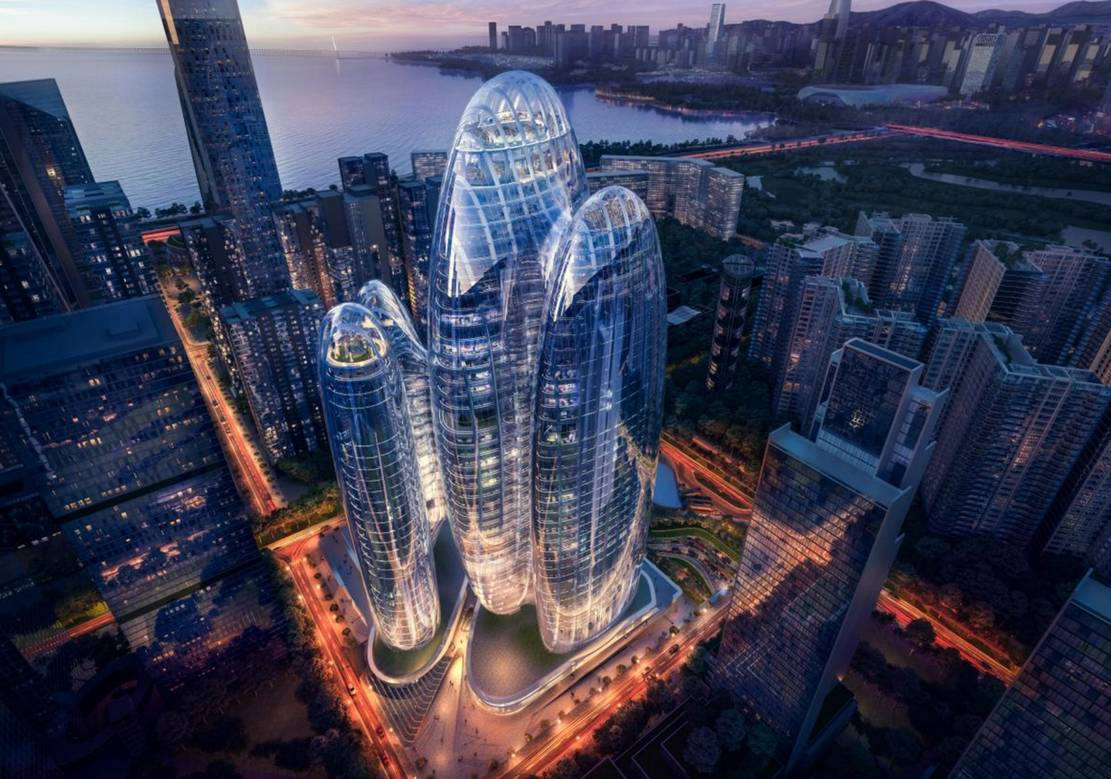 Zaha Hadid Architects' OPPO Shenzhen Towers