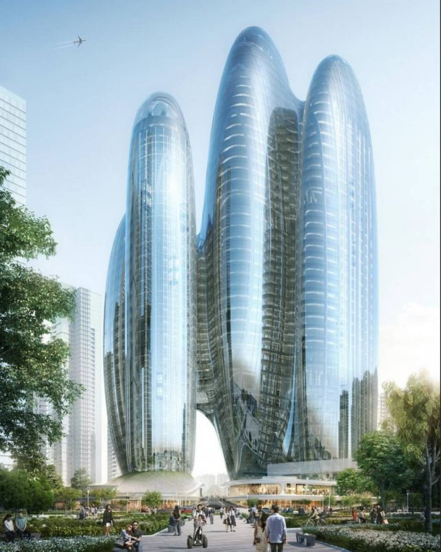 Zaha Hadid Architects' OPPO Shenzhen Towers (2)
