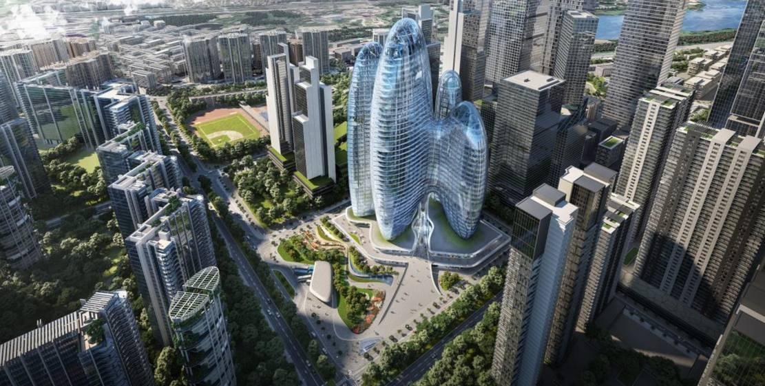 Zaha Hadid Architects' OPPO Shenzhen Towers (1)