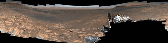 1.8 Billion-Pixel Mars Panorama from Curiosity