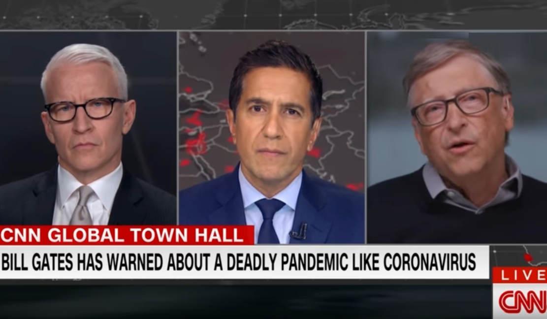 Bill Gates makes predictions about the Coronavirus