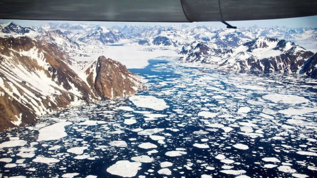 Earth's Ice Melting Six Times Faster than in the 1990s