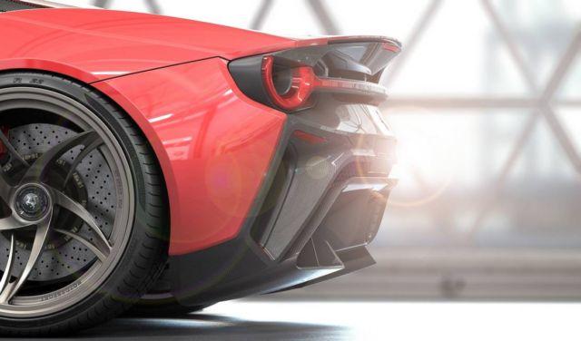 Ferrari Stallone concept supercar (4)