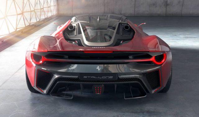 Ferrari Stallone concept supercar (3)