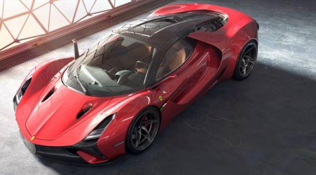 Ferrari Stallone concept supercar (11)