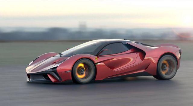 Ferrari Stallone concept supercar (10)