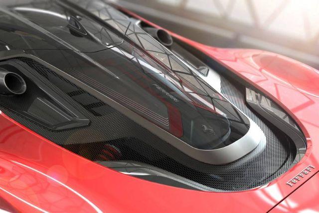 Ferrari Stallone concept supercar (5)