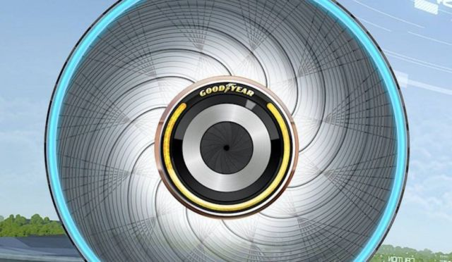 Goodyear reCharge Tyre Concept