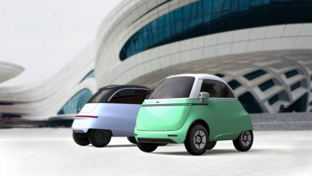 Micro electric bubble car and three-wheeled e-scooter (1)