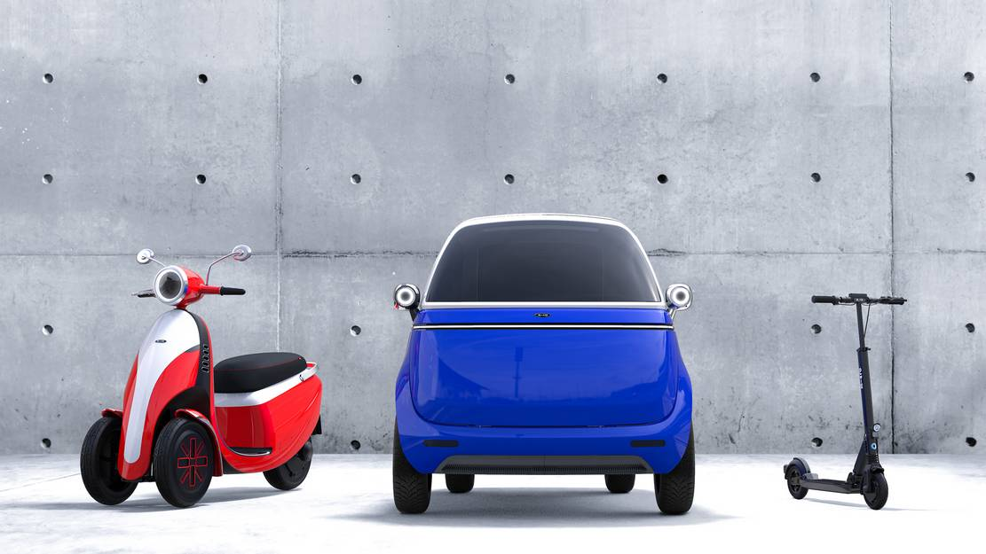 Micro electric bubble car and three-wheeled e-scooter (9)