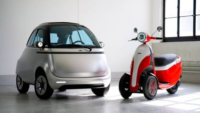 Micro electric bubble car and three-wheeled e-scooter (8)