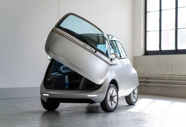 Micro electric bubble car and three-wheeled e-scooter (6)