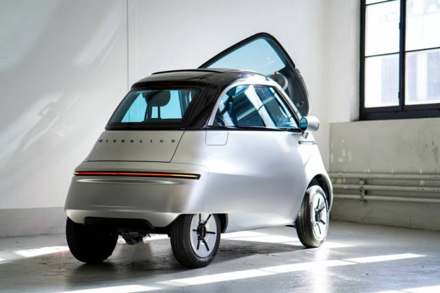 Micro electric bubble car and three-wheeled e-scooter (4)