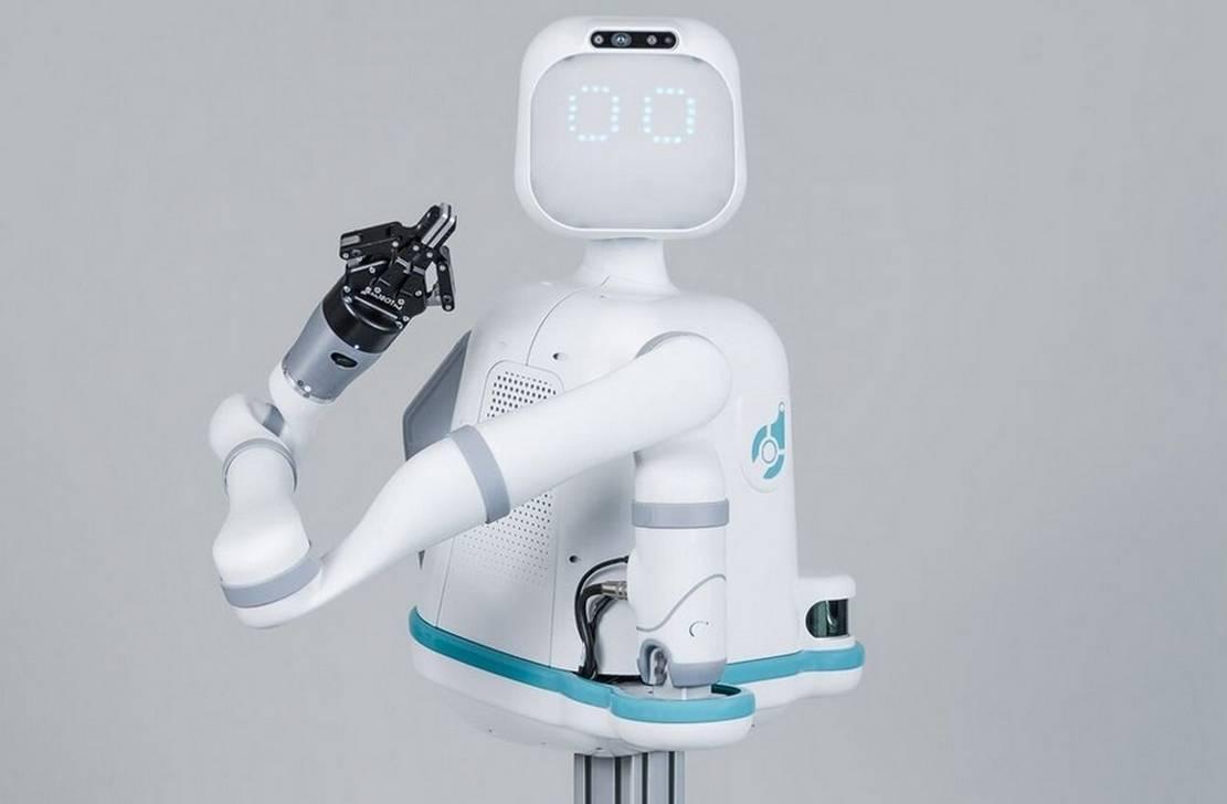 Moxi robot nurse