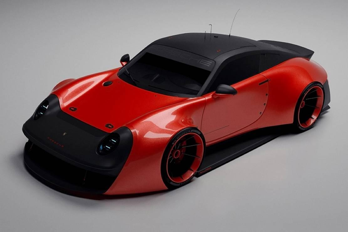 Porsche prototype 911 Bullfrog concept (4)