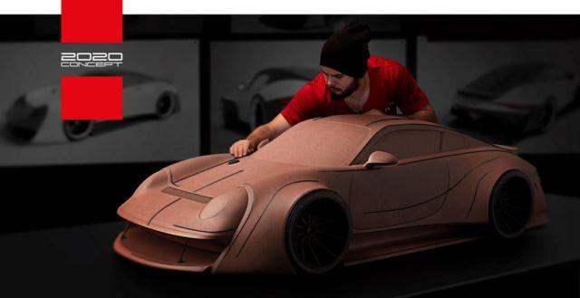 Porsche prototype 911 Bullfrog concept (1)
